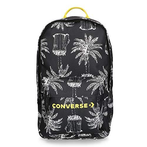 Converse Coconut Edc Backpack Zaino, Unisex Adulto, Nero, 22 l