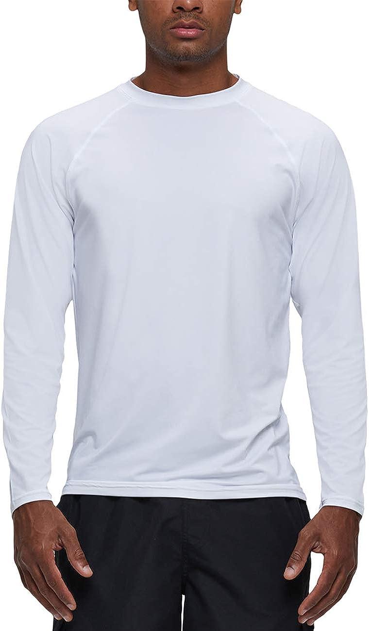 YuKaiChen Men's Rashguard Max 64% OFF Sun Shirts UPF 50+ Long Protection UV Brand Cheap Sale Venue