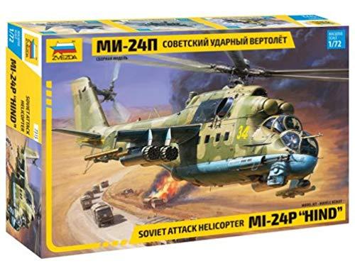 ズベズダ 1/72 ロシア軍 MIL Mi-24P プラモデル ZV7315