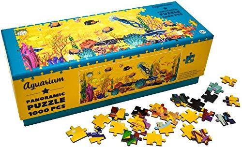 Panorama puzzel – Aquarium – 1000 stukjes