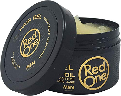 Red One gel arganangereichertes Haargel Maximaler Halt 450 ml