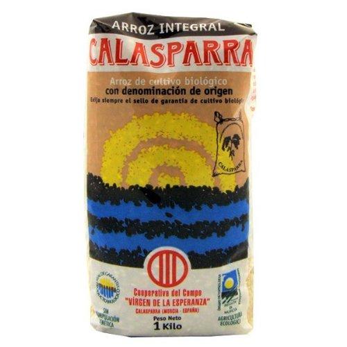 Calasparra Arroz E.Plastico Integral Calasparra 1Kg - 400 g
