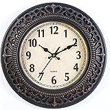 besanil No de tickende Madera Modern Nostalgie Reloj de Pared DIY para salón Cocina...