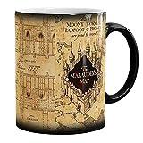 Farbwechsel Becher-hitze-Reveal Keramik Coffee Drink Cup Marauders Map Unfug Geschenk
