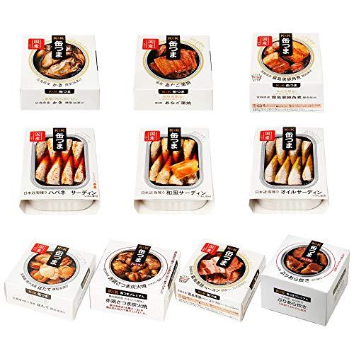 K&K 国分 缶詰 缶つまプレミアムセット 10缶 ギフトセット
