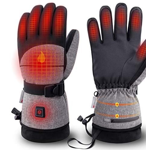 Skihandschoenen, verwarmd, motorfiets, paardrijden, klimmen, wandelen, vissen, bescherming van de handen, drie snelheidsniveaus, handschoenen voor mannen en vrouwen.