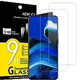 NEW'C 2 Stück, Schutzfolie Panzerglas für Oppo Reno 2, Reno 2Z, Frei von Kratzern, 9H Festigkeit, HD Bildschirmschutzfolie, 0.33mm Ultra-klar, Ultrawiderstandsfähig