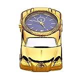 La haute fantaisie Montre-bracelet allume cigare USB rechargeable coupe-vent sans flamme Briquet électronique avec boîte cadeau Bonne idée cadeau pour homme