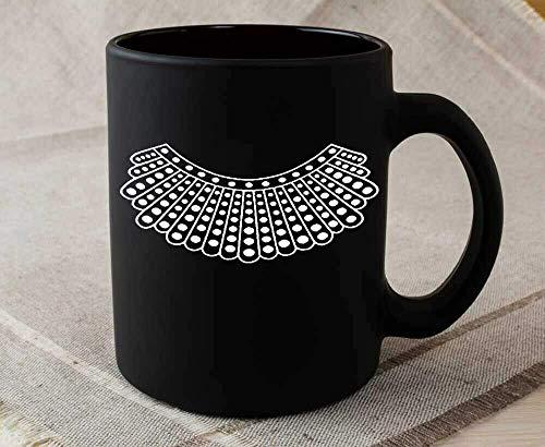 N\A Taza de caf con Cuello Disidente para Disfraz de Feminismo, Tazas de caf de cermica de 11 onzas para Mujeres/Hombres
