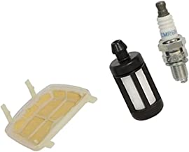 Air Filter Service Fuel Filter and Spark Plug Kit Lawn Mower Replacement Parts Set fit for Stihl MS171, MS171C, MS181, MS181C, MS211 and MS211C Chainsaw Models
