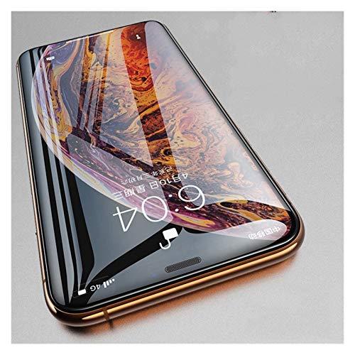 LWSJ Protector de pantalla 9999D es adecuado para iPhone 11 12 Pro XS Max X XR SE2 Protección de superficie curvada de vidrio templado iPhone 7 6 6S 8 Plus película en el cristal protector de pantalla