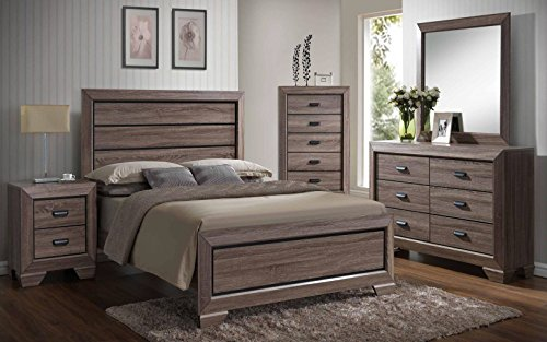 Kings Brand 6-Piece Queen Size B...
