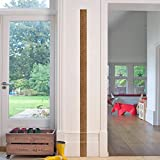 Woodland Arts 3 inches x 68 inches Fake Ruler Measurement Growth Chart Removable Vinyl Wall Decals Stickers for Children Room Nursery