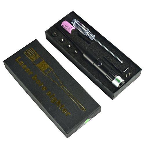 Green Bore Sight Kit Bore Sighter für alle in einem .22 bis .50 Kaliber Jagd Boresighter Zielfernrohr