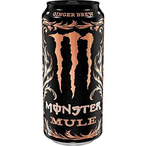 Monster Mule Ginger Brew, energy drink al lime e zenzero da 473ml