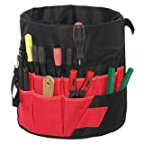 Bucket <span class='highlight'>Tool</span> Bag, Multi-Purpose 42 Pockets Garden Bucket <span class='highlight'>Tool</span> Organizer Kit Waterproof Heavy Duty <span class='highlight'>Tool</span> Carrier Holder Pack Roll Up Bag Organizer