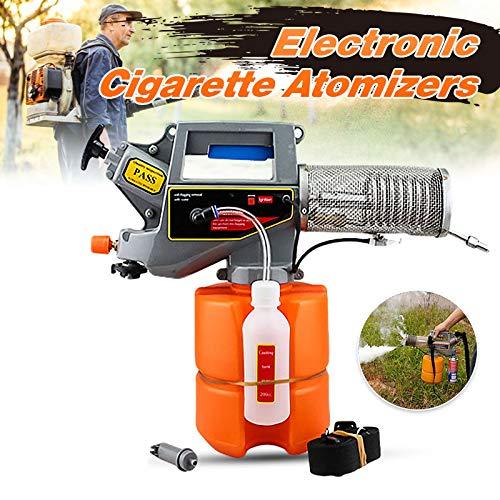 TmDo 2L Tragbares Elektrisches Nebelsprühgerät, Zerstäuber-Sprühwerkzeug Handheld, Kleine Haushaltssprühmaschine, Thermisches Nebelmaschinen,Orange