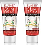 2 Pack Hot Cream, Body Fat Burning Cream, Cellulite Removal Cream, Weight Losing