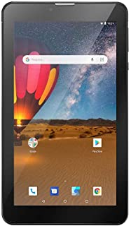 "Tablet Multilaser M7, 3G Plus Dual Chip, 16 GB, 1GB RAM, Tela 7"", Conexão 3G e Wi-Fi, NB304, Preto"