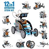 CIRO solar robot kit 12 in 1 educational STEM learning science...