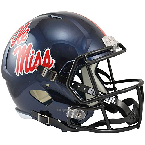 Riddell Mississippi Ole Miss Rebels Officially Licensed NCAA Speed Full Size Replica Football Helmet