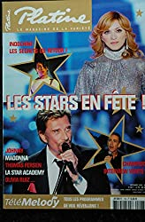 PLATINE 126 * 2005 12 * COVER MADONNA + POSTER INDOCHINE OLIVIA RUIZ ALAIN CHAMFORT THOMAS FERSEN JOHNNY HALLYDAY