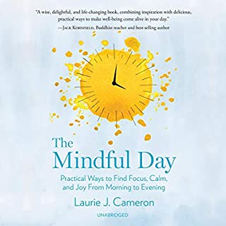 The Mindful Day     Practical Ways to Find Focus, Calm, and Joy from Morning to Evening              Auteur(s):                                                                                                                                 Laurie J. Cameron                               Narrateur(s):                                                                                                                                 Laurie J. Cameron                      Durée: 8 h et 15 min     3 évaluations     Au global 4,3