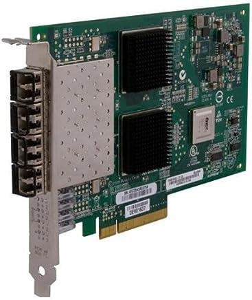 QLogic 8GB クアッドポート Fc Hba PCIE8 Lc マルチモードオプティック (認定整備済み)
