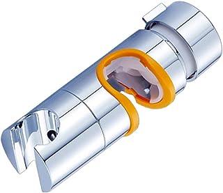 gazechimp 19-25mmクローム交換ヘッドスライダーホルダーバーバスルームアクセサリーパーツ - オレンジ