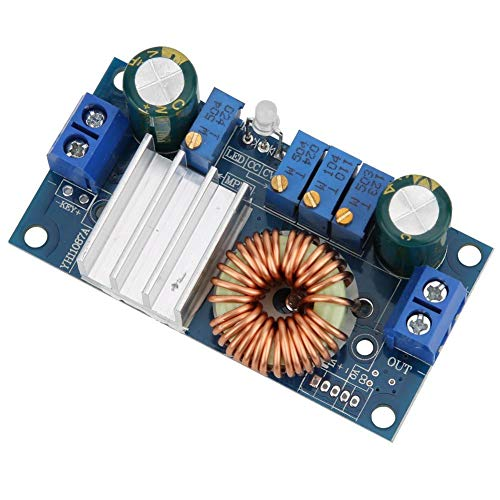 Regulador de voltaje 6-36V-1.25-32V Módulo reductor Módulo regulador hacia abajo Módulo estable DC-DC Reducir voltaje para controlador solar