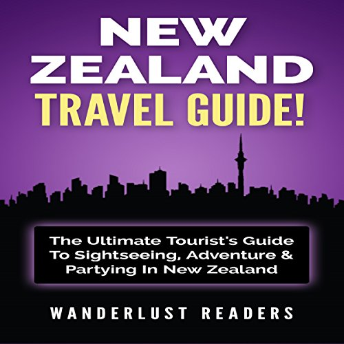 New Zealand Travel Guide audiobook cover art