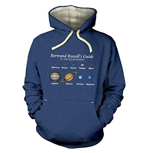 Bertrand Russell's Guide Hoodie (Premium) – Science Geek Hoodie Gr. XX-Large, Königsblau (Heather Royal)