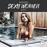 Calendar Sexy Women 2020: Sexy Women Calendar 2020 Mini Desk Wall 8.5 x 8.5 12 Month Calendar Colorful Woman Images