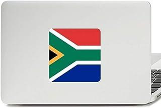 Adesivo de vinil para laptop com bandeira nacional da África do Sul da África