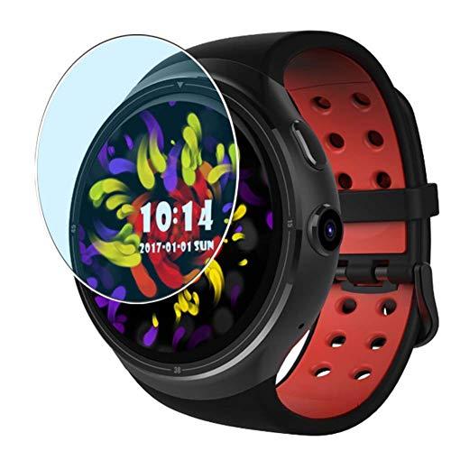 Vaxson 3 Unidades Protector de Pantalla Anti Luz Azul, compatible con Diggro D106 smartwatch Smart Watch [No Vidrio Templado] TPU Película Protectora