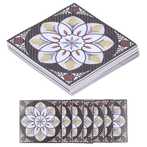 Hoseten Adhesivo Diagonal para Azulejos, Adhesivos para Azulejos Adhesivo Diagonal para Suelo, Resistente al Agua, no tóxico para la Oficina, para el hogar