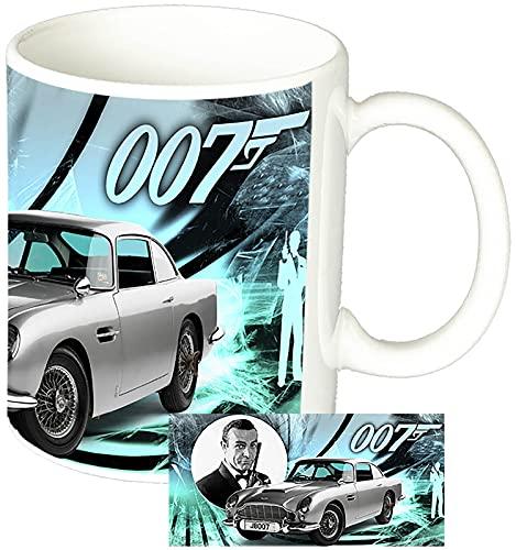 MasTazas James Bond 007 Sean Connery Tazza Mug in Ceramica Bianca