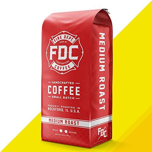 Original Medium Roast Coffee - Ground Medium Roast Coffee - Fire Department Coffee [12 Ounce]