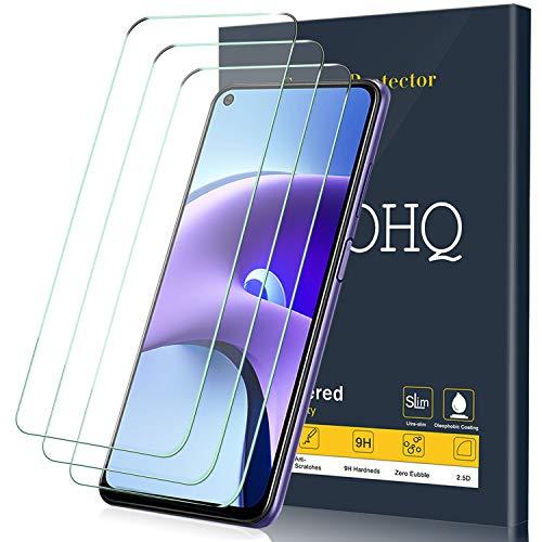 QHOHQ 3 Pezzi Pellicola Protettiva per Xiaomi Redmi Note 9T 5G,Vetro Temperato Membrana,Durezza 9H - HD - Anti-Graffio - Senza Bolle - Facile Installare