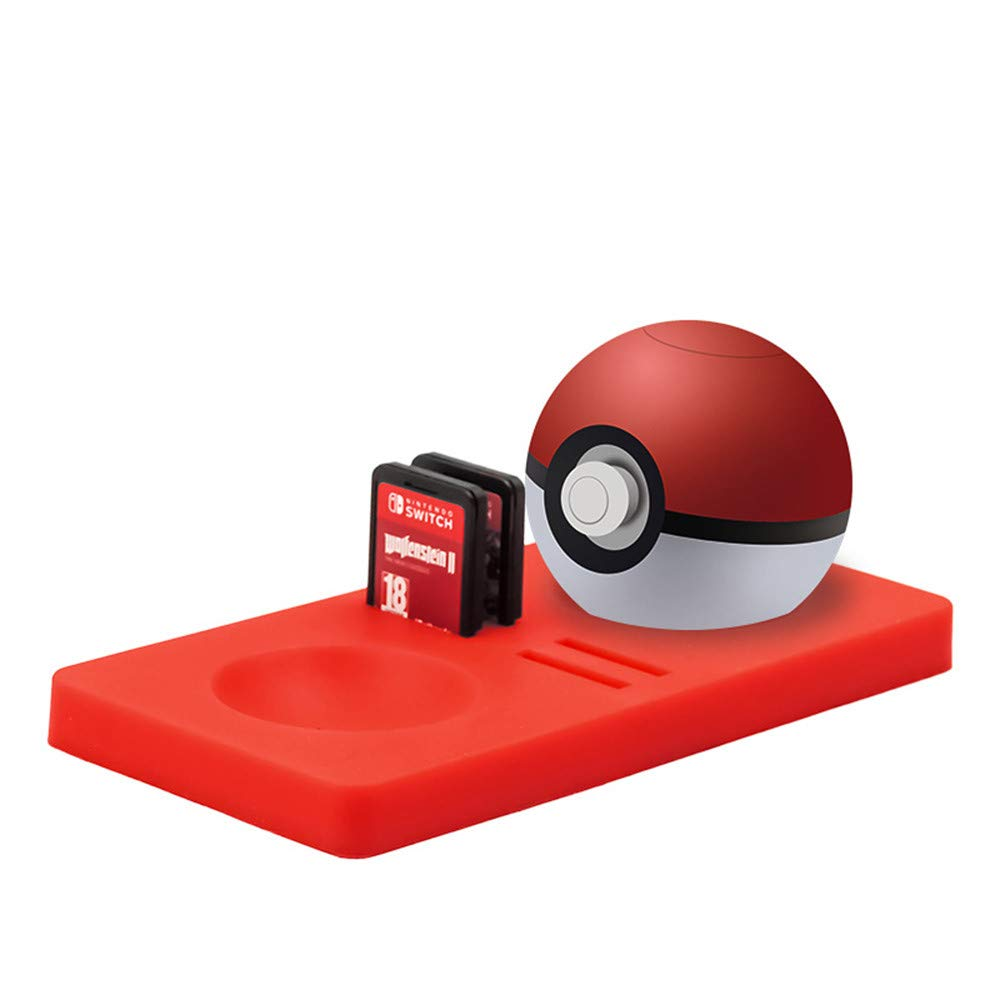 Almohadilla de Silicona para Nintendo Switch Game Cards + Poke Ball Plus Pokemon Lets Go Pikachu Eevee Game: Amazon.es: Hogar