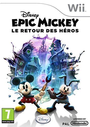 Disney Epic Mickey : Le Retour des Héros [Edizione: Francia]