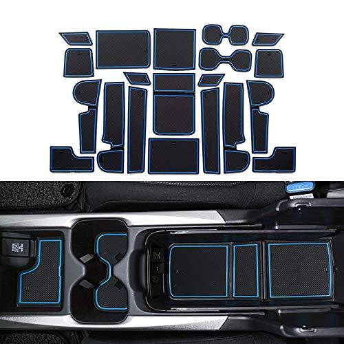 YEE PIN CRV Gummimatten CR V Zubehör (2018-2020) Interieur rutschfeste Matten für Mittelkonsole Getränkehalter Antirutschmatten Autoteile Innenausstattung