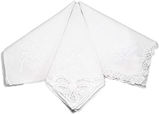 embroidered hankies for weddings