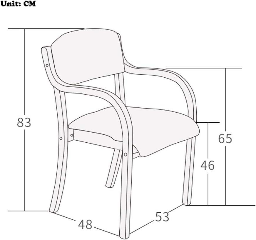 Solide Simple Chaise Bureau étudiant et Chaise de Maquillage Tabouret Retour à la Maison à Manger Chaise d'ordinateur Stable (Color : White b) White B