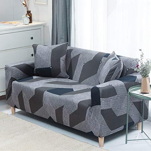Funda de sofá Asiento elástico Fundas de sofá sillón Muebles Fundas sofá Toalla 1/2/3/4 plazas A10 1 Plaza