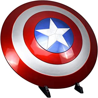 2017 American Cosplay Props Adult Shield Decoration 1:1 Replica+Adjustable Strap Red