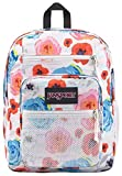 JanSport Big Campus 15 Inch Laptop Backpack - Lightweight Daypack, Poppies