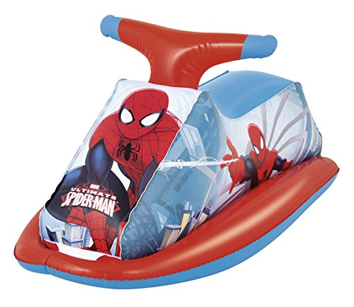 Moto hinchable para niños Bestway Spiderman