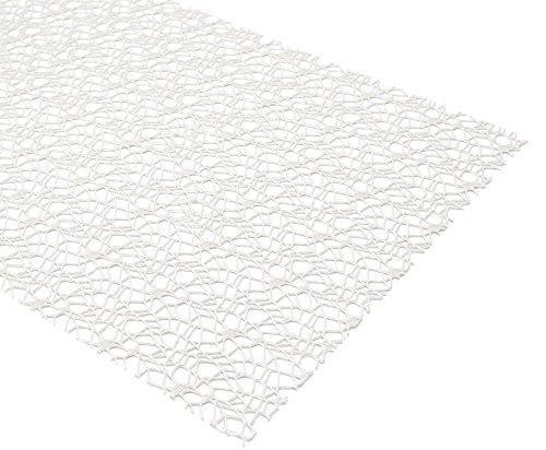 BEAUTEX Netz Tischläufer Tischdecke Platzset Tischset Tischdeko, Größe und Farbe wählbar (Tischläufer 45 x 145 cm Natur)