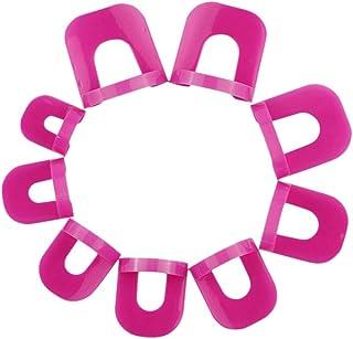 zroven 26Pcs/Pack Nail Protector Nail Polish Tips Form Nail Polish Glue Model Spill Proof Manicure Protector Tools Nail Ar...